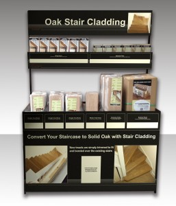 Stair Cladding Merchandiser